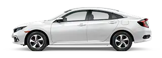 2020 Honda Civic LX Model Cut-Out