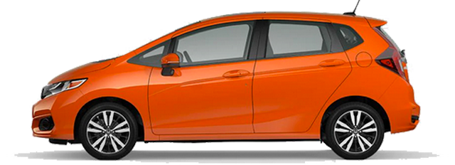 2020 Honda Fit - EX-L Model Cut-Out