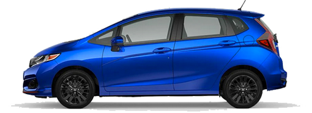 2020 Honda Fit - Sport Model Cut-Out