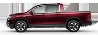 2020 Honda Ridgeline - RTL Model Cut-Out