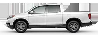 2020 Honda Ridgeline - Sport Model Cut-Out