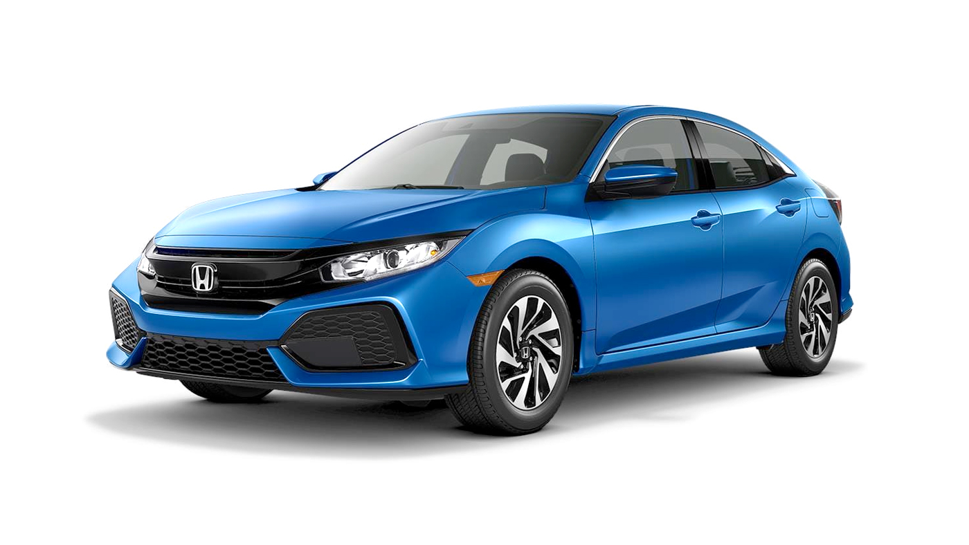 2019 Honda Civic Hatchback LX shown