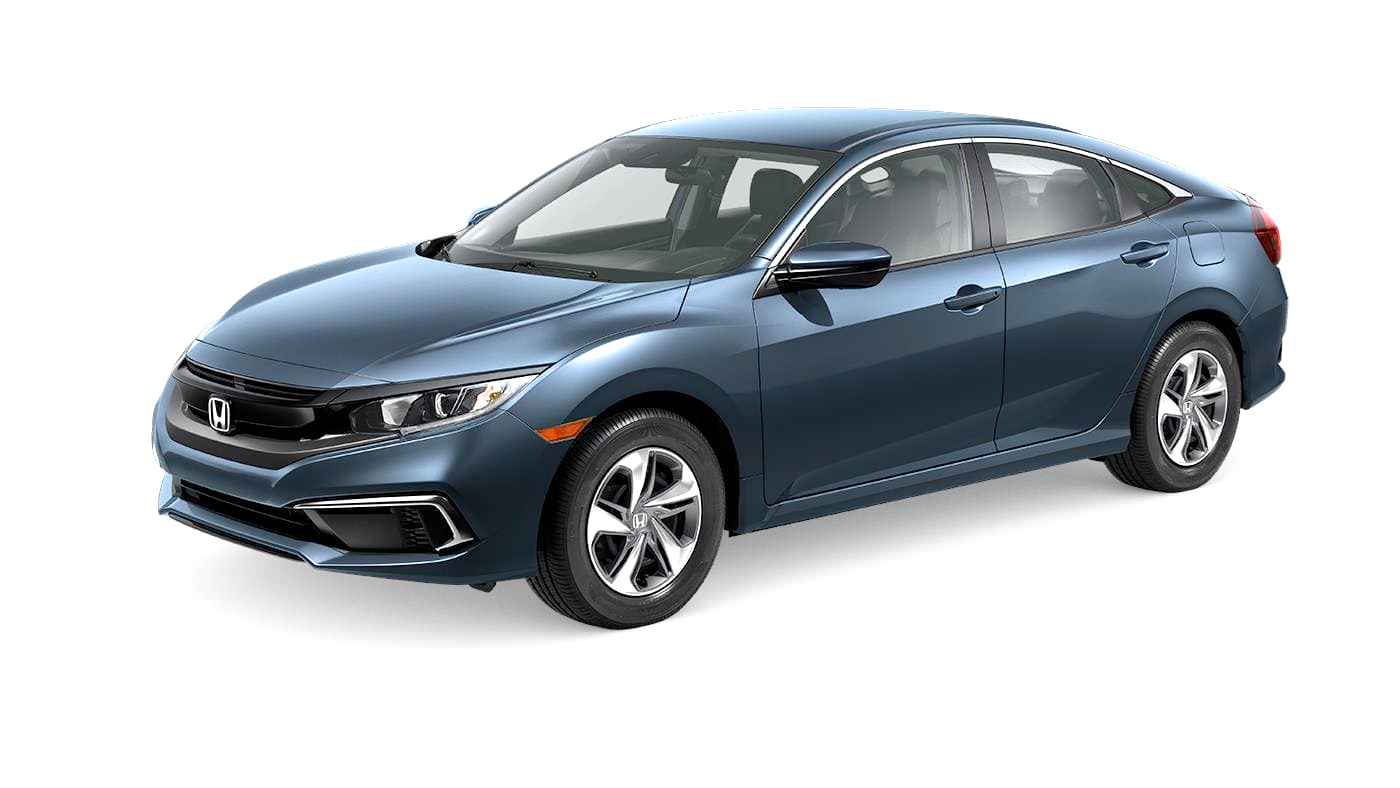 2019 Honda Civic Sedan LX CVT shown
