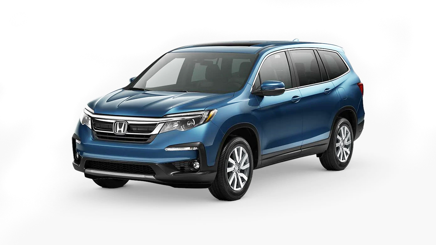 2019 Honda Pilot EX-L shown