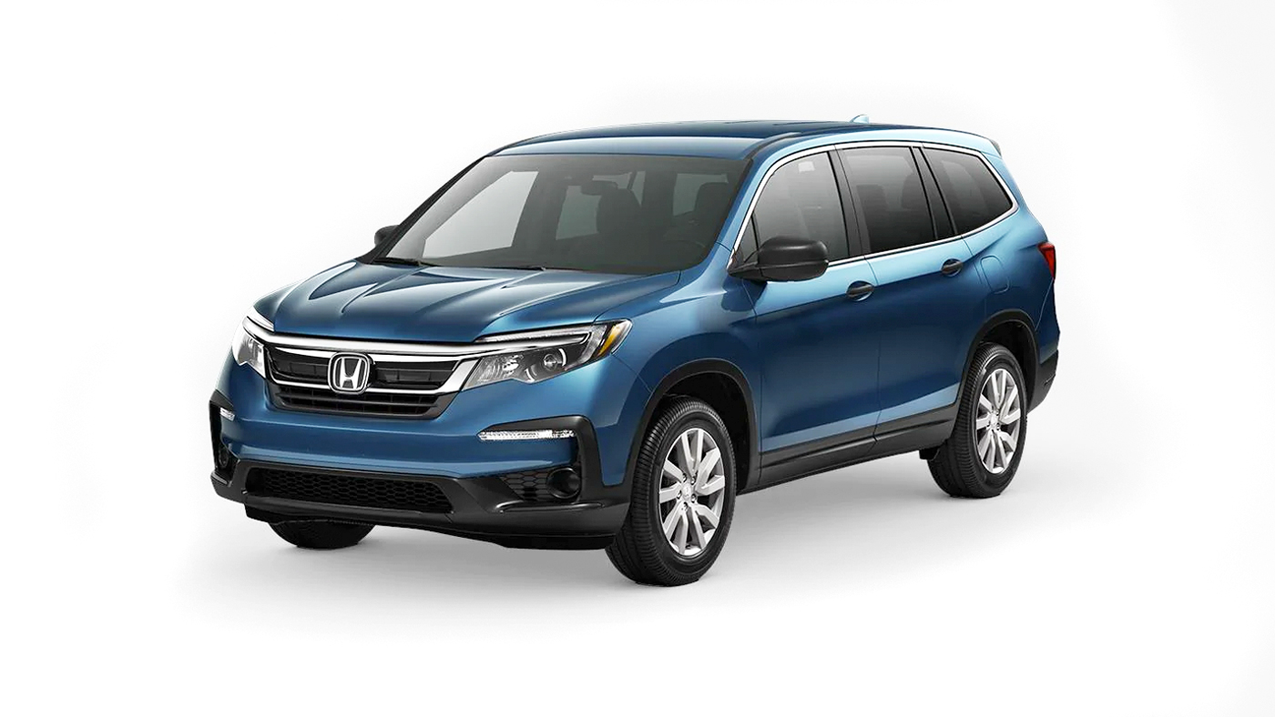 2019 Honda Pilot LX 2WD shown