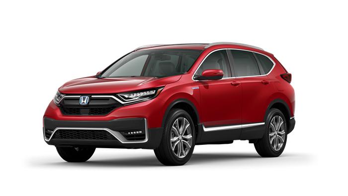 2020 Honda CR-V Hybrid EX shown