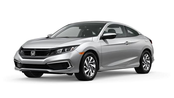 2020 Honda Civic Coupe LX CVT shown