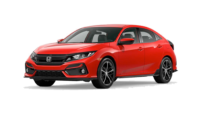 2020 Honda Civic Hatchback Sport CVT shown