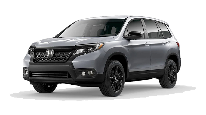 2020 Honda Passport Cut-Out