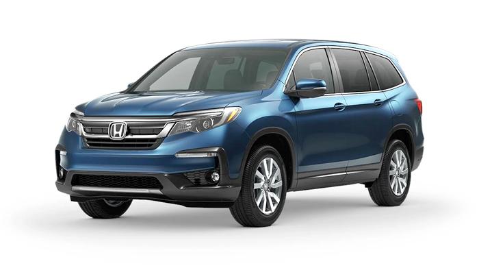 2020 Honda Pilot EX-L 4WD shown