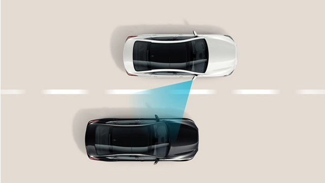 Hyundai Sensing A Vehicle In Blind-Spot