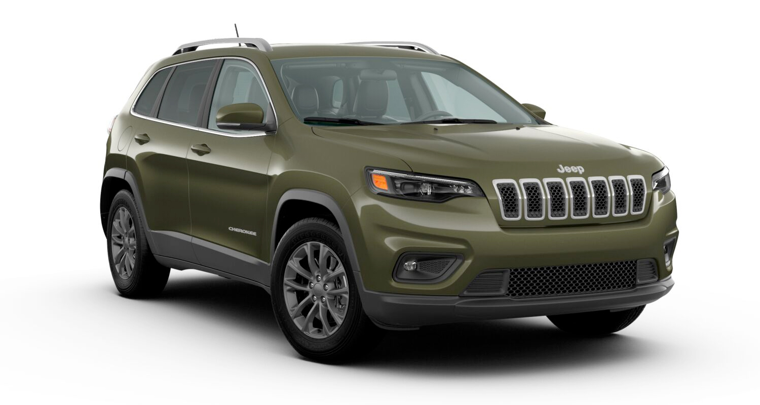 2020 Jeep Cherokee Latitude Plus model shown