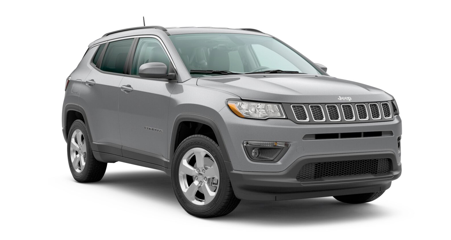 2020 Jeep Compass Latitude 4x4 model shown