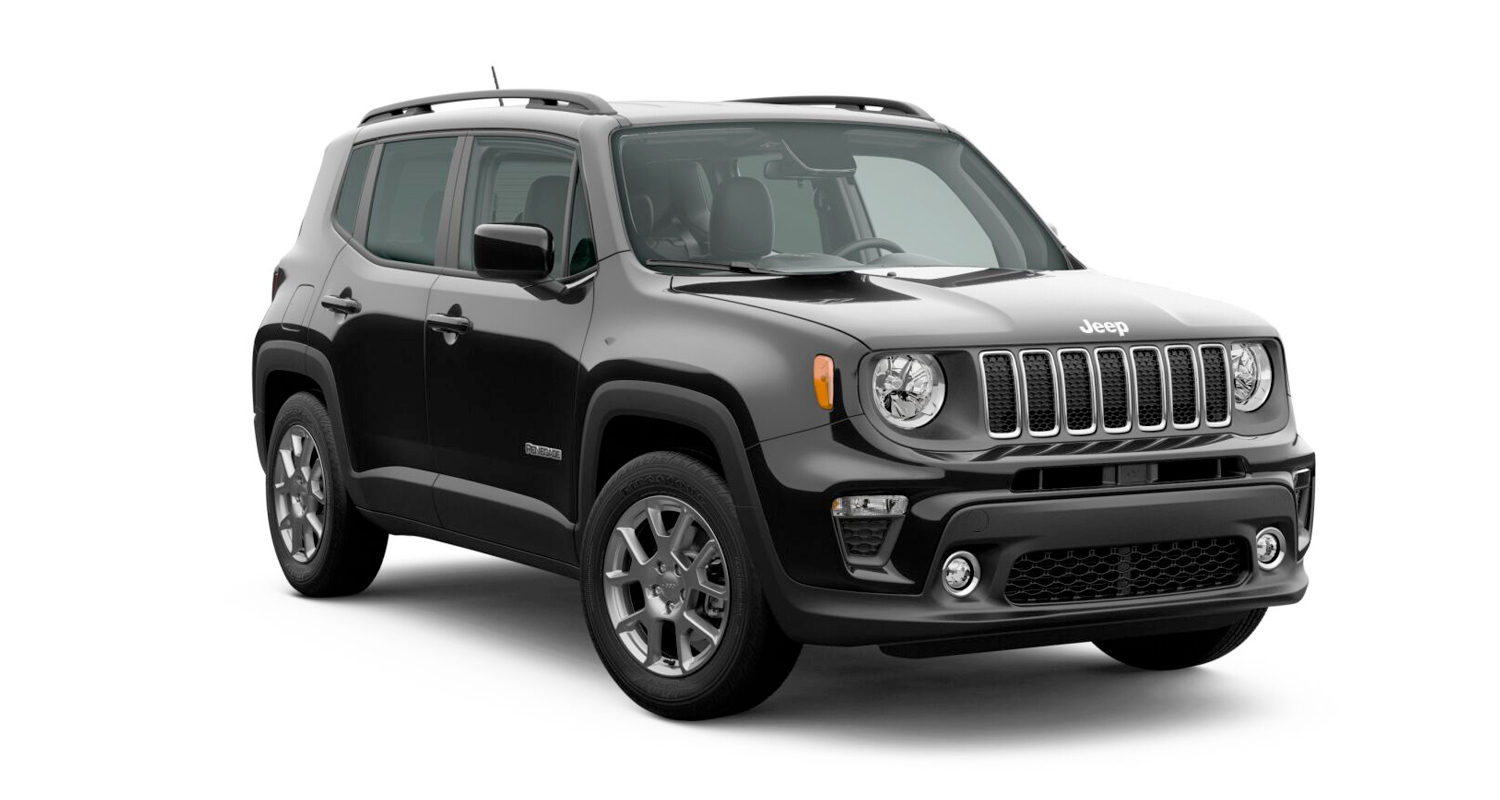2020 Jeep Renegade Latitude model shown