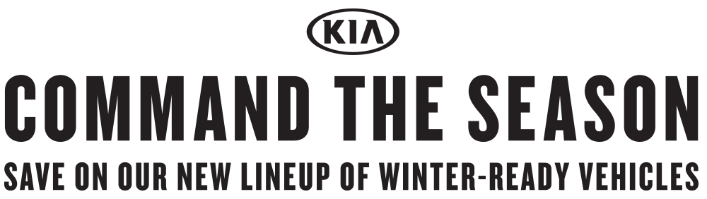 Kia's Command The Season Sales Event