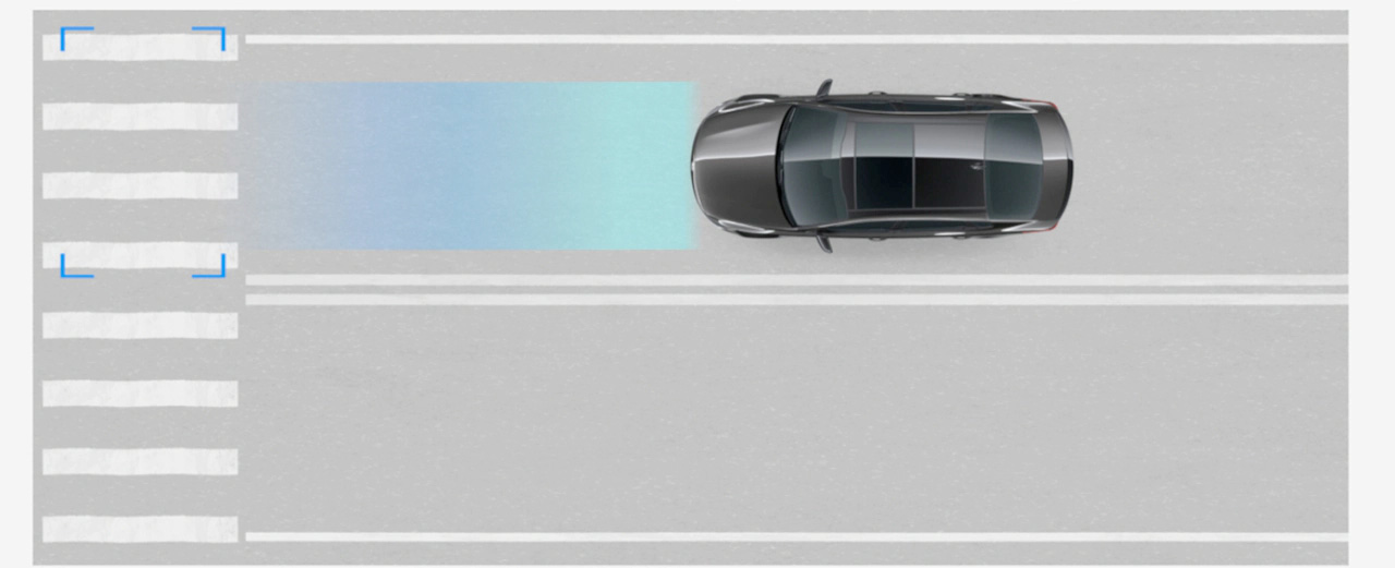 2020 Kia Optima with Forward Collision-Avoidance Assistance with Pedestrian Detection (FCA-Ped)