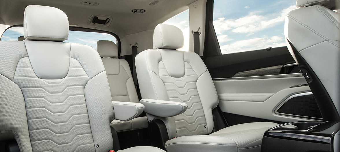 Rear Seats Of The Telluride