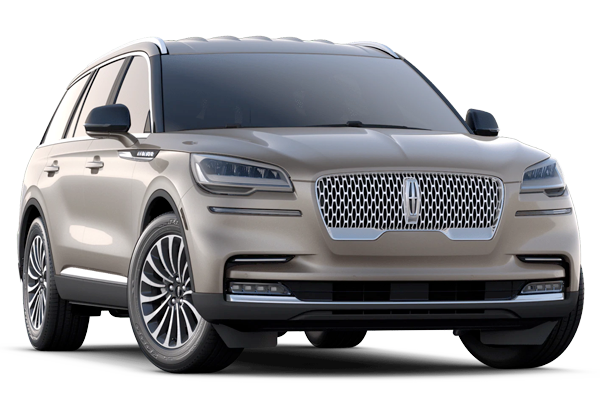2020 Lincoln Aviator Reverse Car Cut