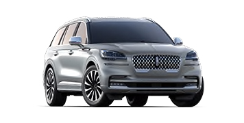 2020 Lincoln Aviator Black Label Grand Touring Model Cut-Out