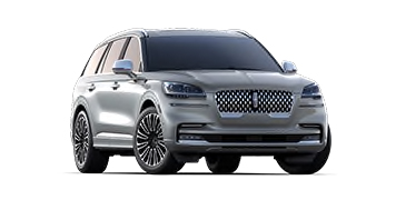 2020 Lincoln Aviator Black Label Model Cut-Out
