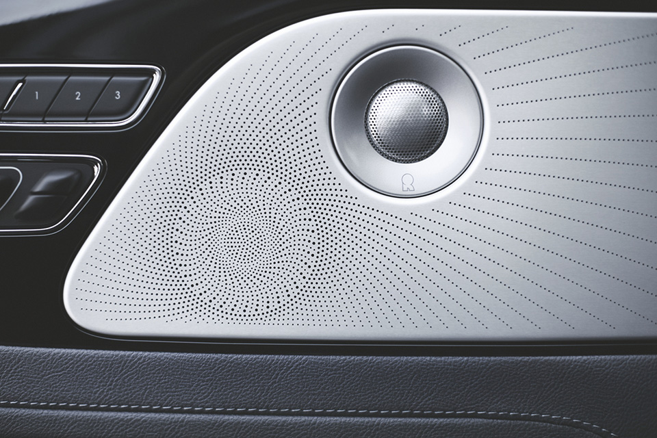 2020 Lincoln Aviator Revel Ultima Audio System