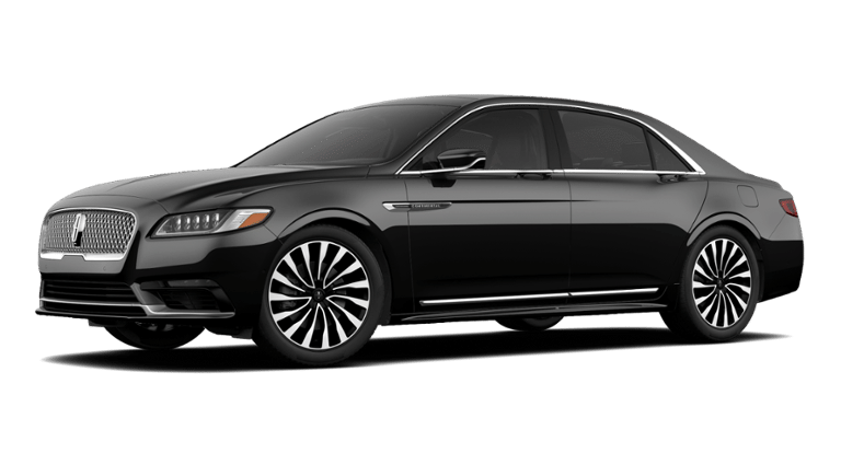 2020 Lincoln Continental Black Label Model Cut-Out