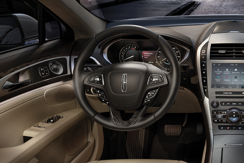 2020 Lincoln MKZ View From Driver Seat