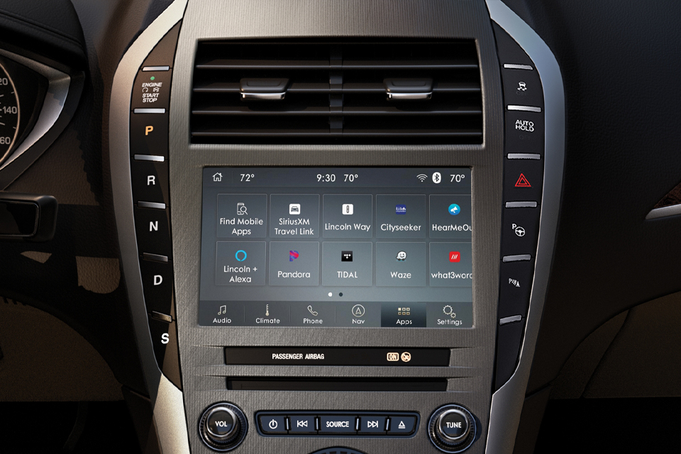 2020 Lincoln MKZ Sync3 Touch Screen Display
