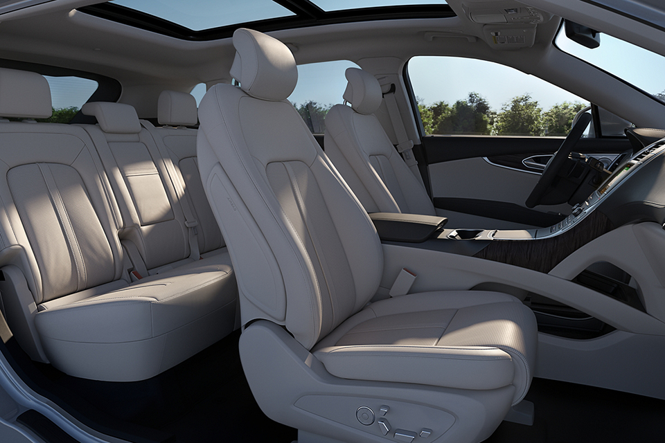 2020 Lincoln Nautilus - Full Interior View From Passenger Seat