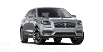 2020 Lincoln Nautilus Black Label Model Cut-Out