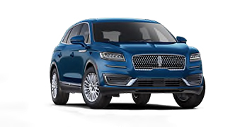2020 Lincoln Nautilus Standard Model Cut-Out