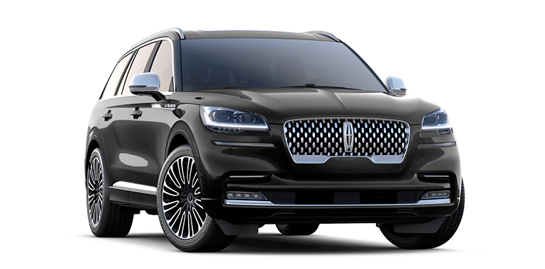 2021 Lincoln Aviator  Black Label Model Cut-Out