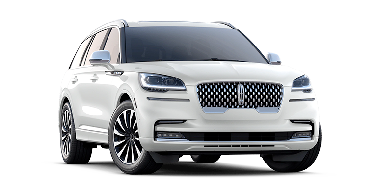 2021 Lincoln Aviator Black Label Grand Touring Model Cut-Out