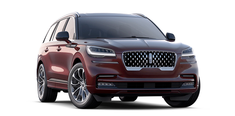 2021 Lincoln Aviator Grand Touring Model Cut-Out
