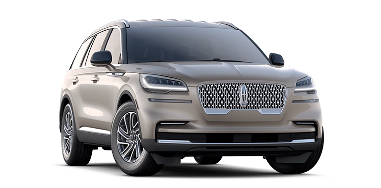 2021 Lincoln Aviator Standard Model Cut-Out