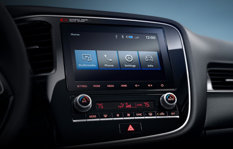 2020 Mitsubishi Outlander Technology
