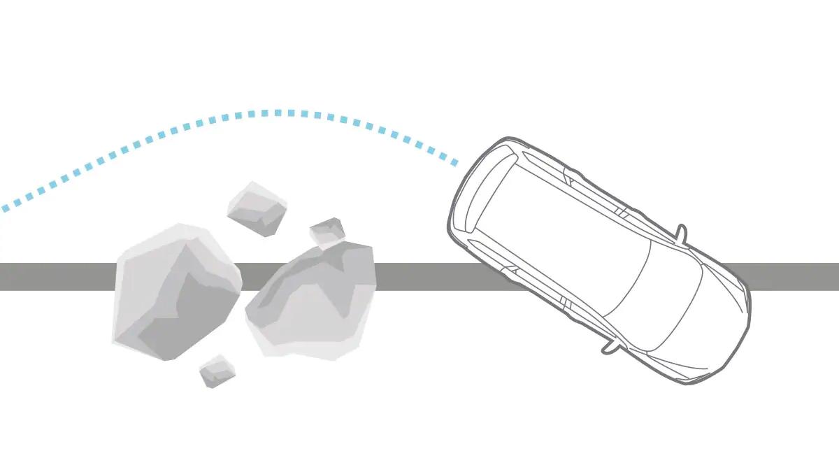2020 Nissan Pathfinder - Anti-Lock Braking System Illustration