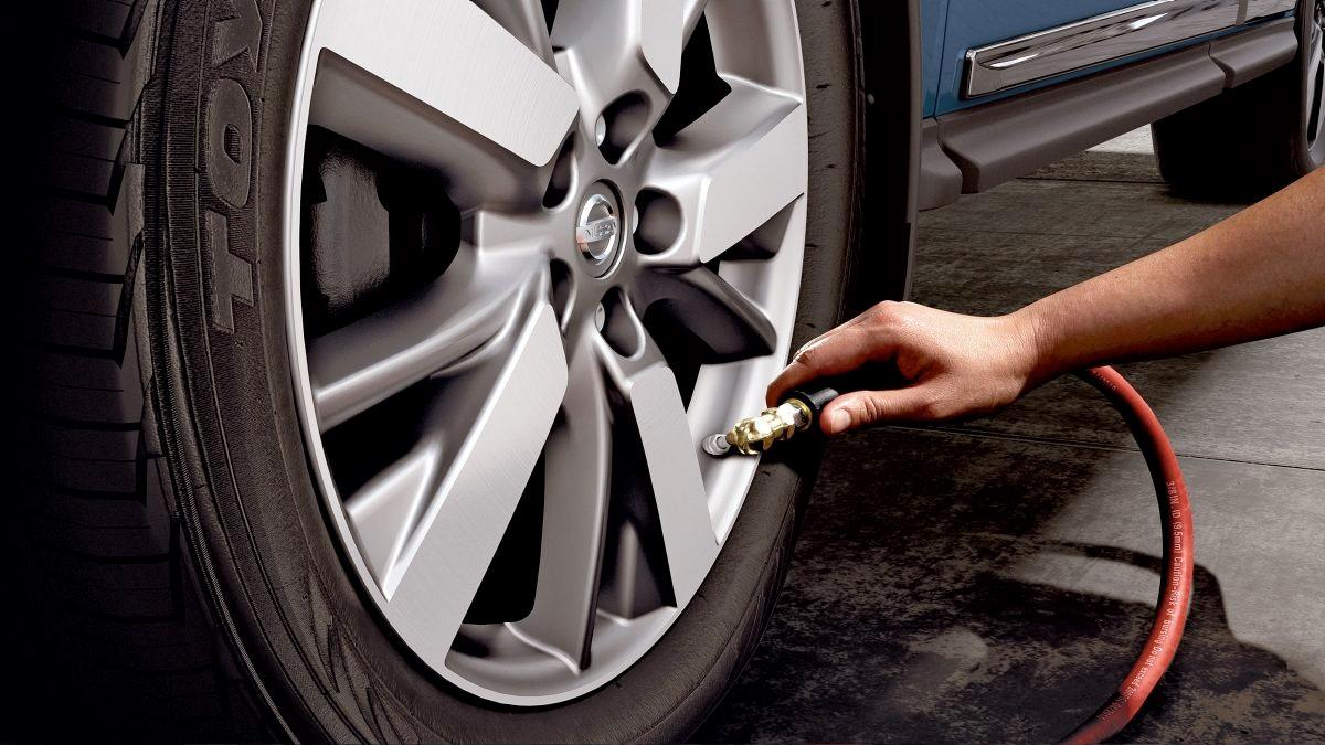 2020 Nissan Pathfinder - Tire Pressure