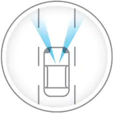 2020 Nissan Altima - Intelligent Lane Intervention Icon