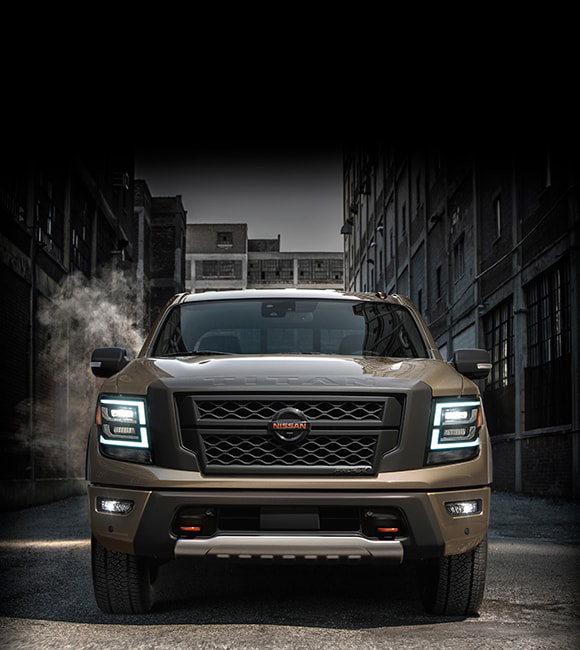 2020 Nissan Titan - Parked in an ally