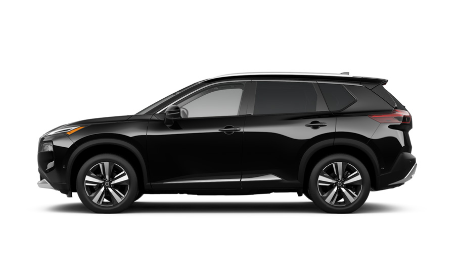 2021 Nissan Rogue Platinum Model Cut-Out