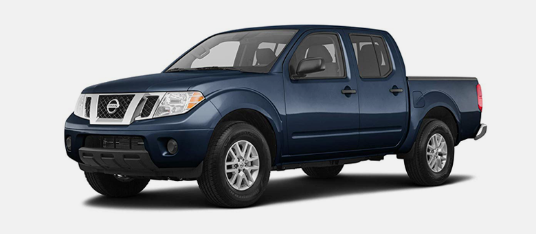 2019 Nissan Frontier SV shown