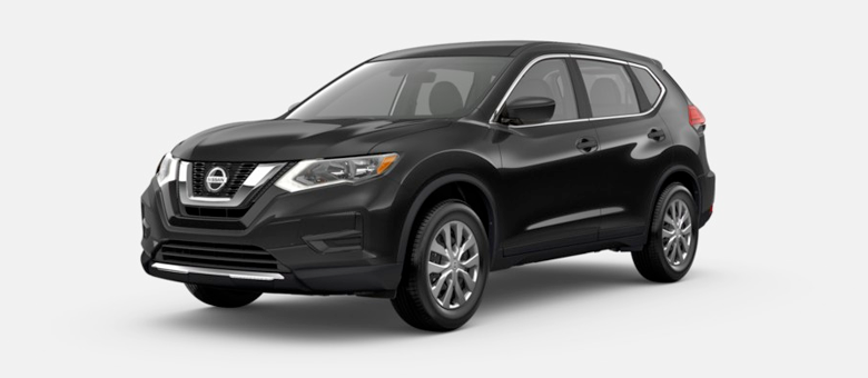 2020 Nissan Rogue S shown