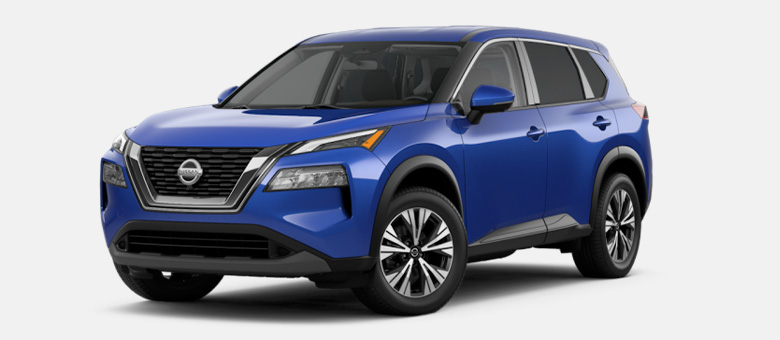 2021 Nissan Rogue SV shown