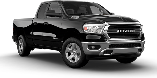 2021 RAM 1500Big Horn Vehicle Cut-Out