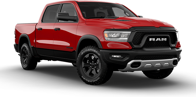 2021 RAM 1500 Rebel Vehicle Cut-Out