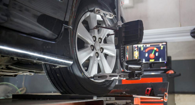 Service & Parts Offer - Alignment Special