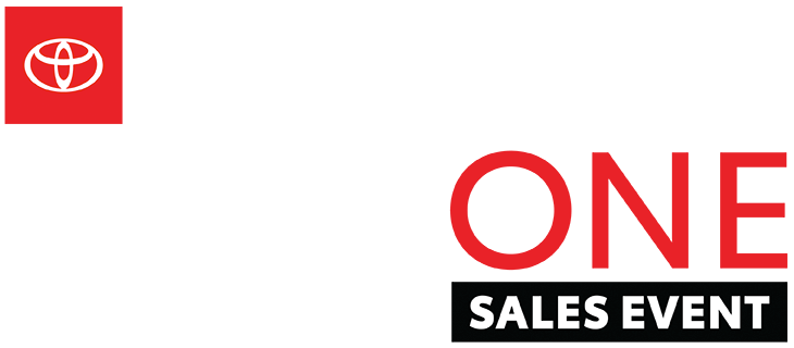 Toyota Big One Sales Event logo