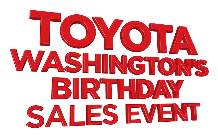 Toyota Washington's Birthday Sales Event
