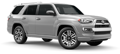 2020 Toyota 4Runner Limited Model Cut-Out